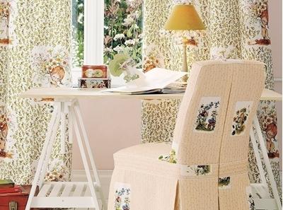 шторы, чехлы на стулья в детскую комнату
