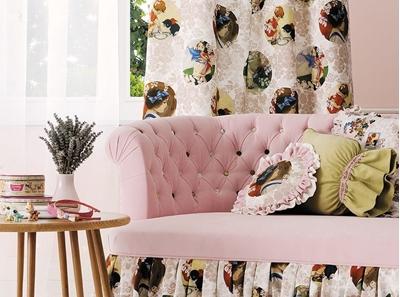 шторы, подучшки, чехлы на мебель в детскую