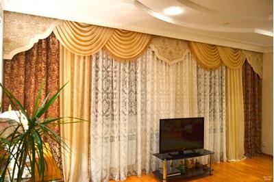 оформление большой гостиной нашими дизайнерами