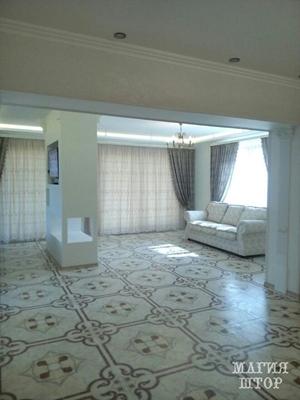 шторы в большую гостиную