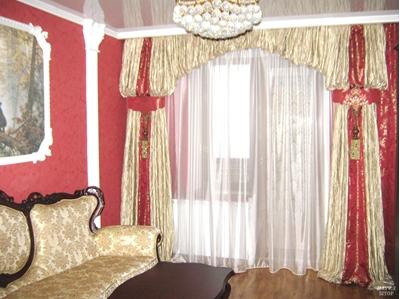 оригинальное оформление гостиной