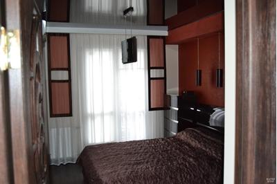 панельные шторы в спальню