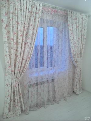 романтичные шторы в спальню