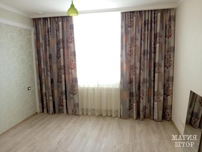 шторы с актуальным принтом в гостиную