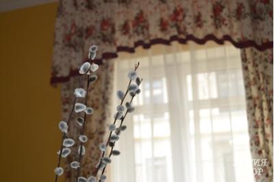 шторы наших дизайнеров радуют в вербное воскресенье