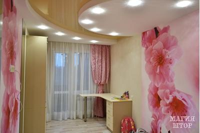 декоративные шторы в детсккую девочке