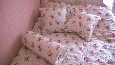 покрывало, валик, подушки на заказ в детскую девочке