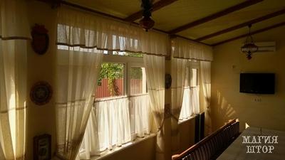 шторы в кухню домашний уют