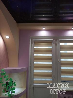 рулонные шторы день-ночь в детскую комнату